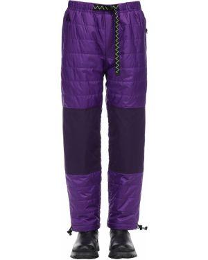 Фиолетовые брюки на резинке с пряжкой Nike Acg