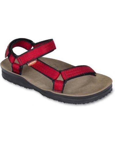 Красные сандалии Lizard