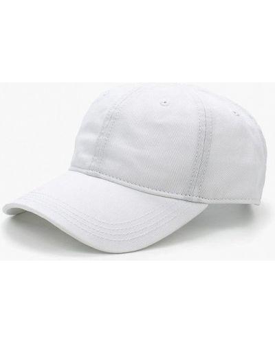 Белая бейсболка Lacoste