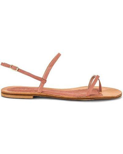 Sandały skorzane na co dzień z klamrą Cornetti