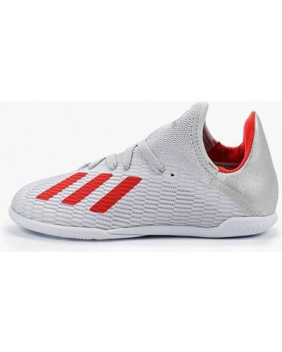 Бутсы серый Adidas