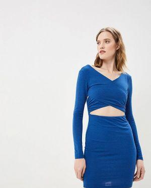 Платье синее Mirasezar