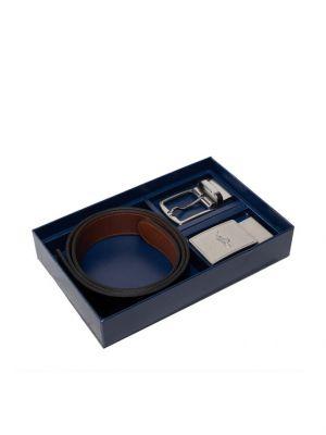 Pasek - brązowy Polo Ralph Lauren