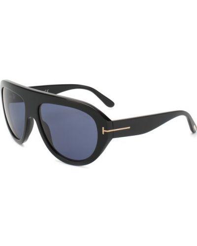 Солнцезащитные очки черные Tom Ford