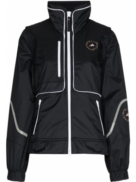 Черная спортивная куртка Adidas By Stella Mccartney