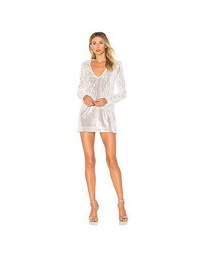 Платье с пайетками мини прямое Majorelle