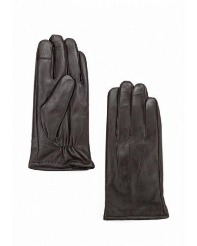 Коричневые перчатки Topman