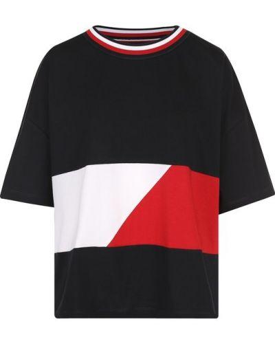 Свободная футболка прямая Tommy Hilfiger