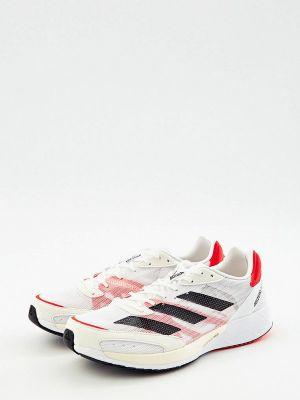 Белые кроссовки осенние Adidas