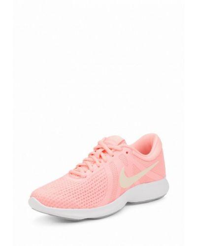 Розовые кроссовки резиновые Nike