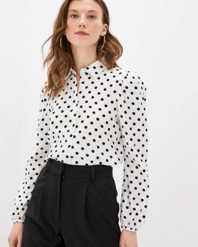 Белая блузка с длинными рукавами Defacto