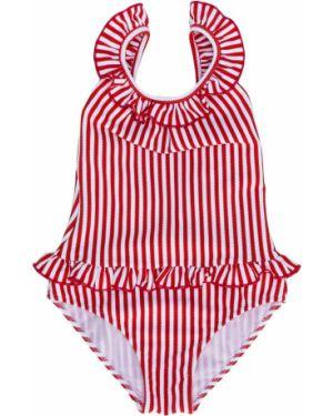 Слитный купальник круглый с декоративной отделкой Sian Swimwear