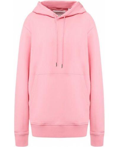 Розовый свитер с капюшоном Helmut Lang