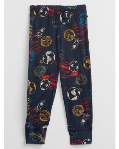 Spodnie z printem Gap