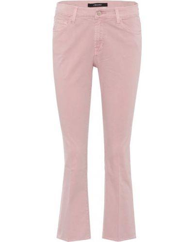 Укороченные джинсы mom розовый J Brand