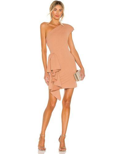 Расклешенное свободное деловое платье Elliatt