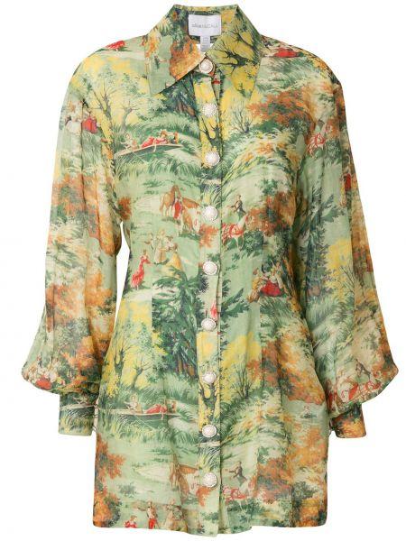 Платье на пуговицах платье-рубашка Alice Mccall