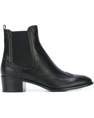 Черные ботинки челси Unützer