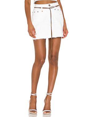 Плиссированная юбка мини с карманами One Teaspoon