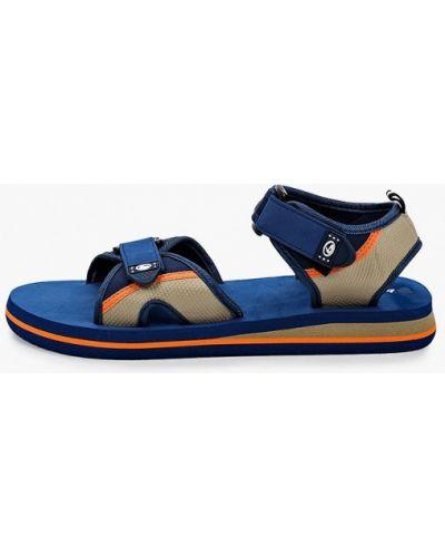 Синие текстильные сандалии Beppi