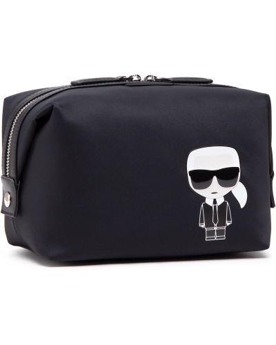 Kosmetyczka - czarna Karl Lagerfeld