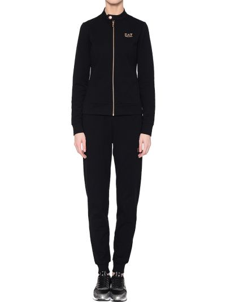 Черный спортивный костюм Ea7 Emporio Armani