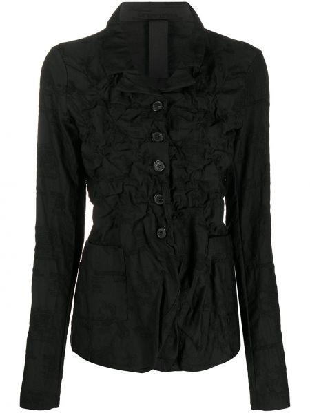 С рукавами черная стеганая куртка Rundholz