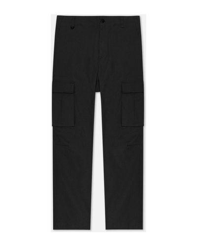 Хлопковые прямые брюки карго на молнии Nike Sb