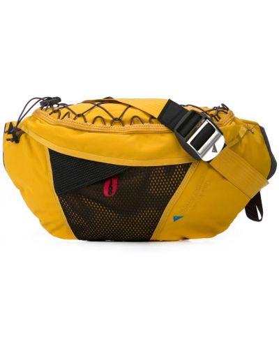 Поясная сумка на молнии желтый Klättermusen