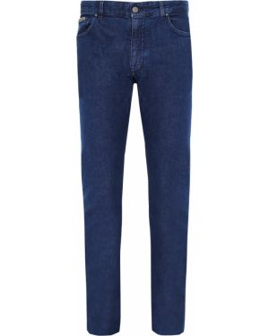 Хлопковые джинсы на пуговицах с поясом Castangia