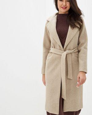 Пальто демисезонное бежевое Trendyangel
