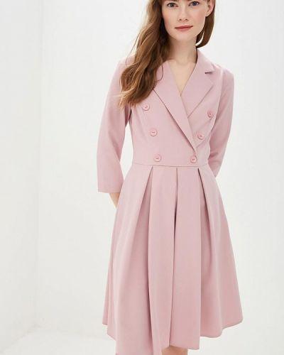 Платье розовое платье-пиджак Vittoria Vicci