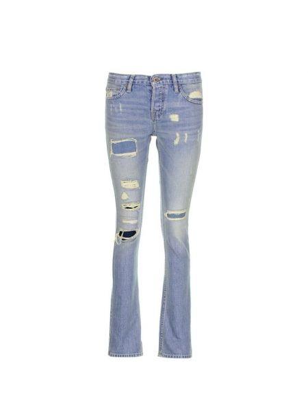Хлопковые джинсы - синие Nsf
