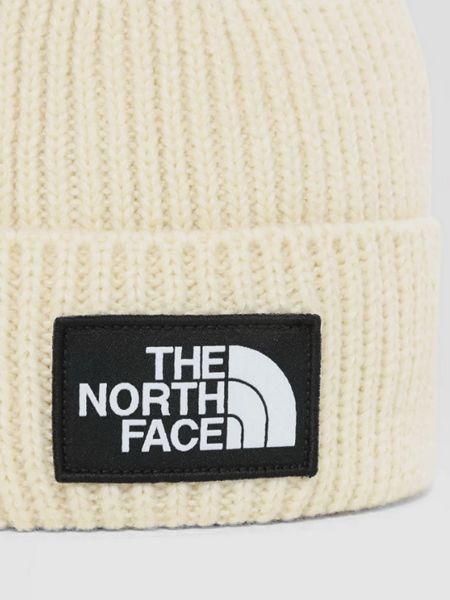 Шапка бини с манжетами - бежевая The North Face