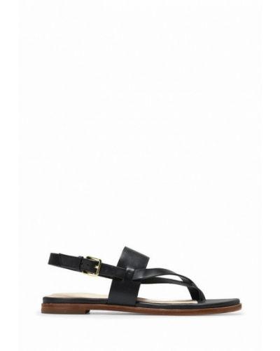 Кожаные сандалии - черные Cole Haan