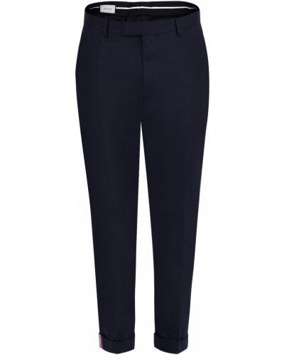 Укороченные брюки прямые в полоску Gucci