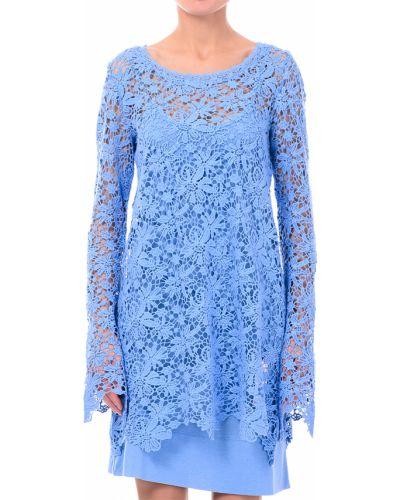 Голубое платье Twin-set