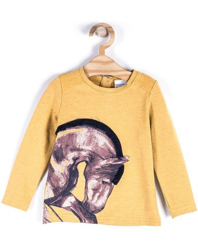 Блуза желтый оранжевый Coccodrillo