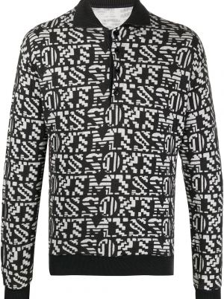 Классическая черная рубашка на пуговицах Missoni Pre-owned