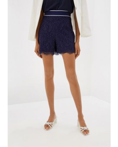 Юбка шорты - синяя Karen Millen