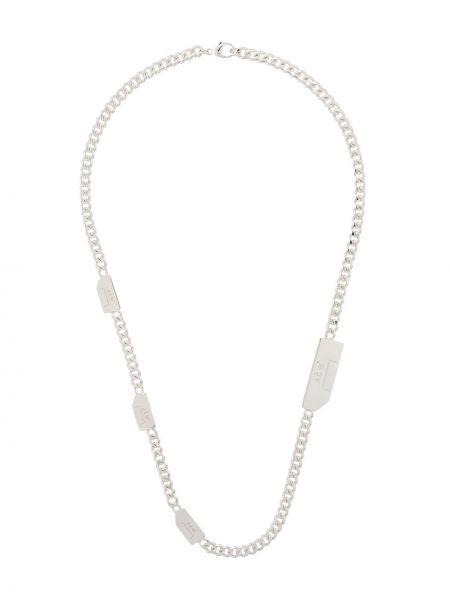 Biały naszyjnik srebrny A-cold-wall*