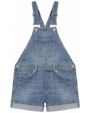 Комбинезон джинсовый синий Dondup