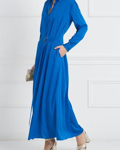 Платье макси на пуговицах с поясом Diane Von Furstenberg