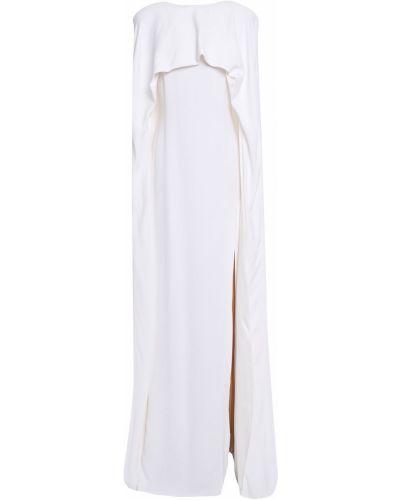 Белая шелковая кофта Stella Mccartney