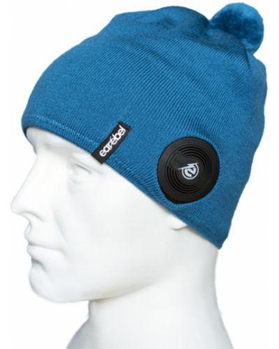 Czapka beanie - niebieska Earebel