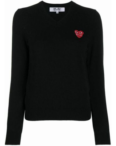 Sweter - czarny Comme Des Garcons Play