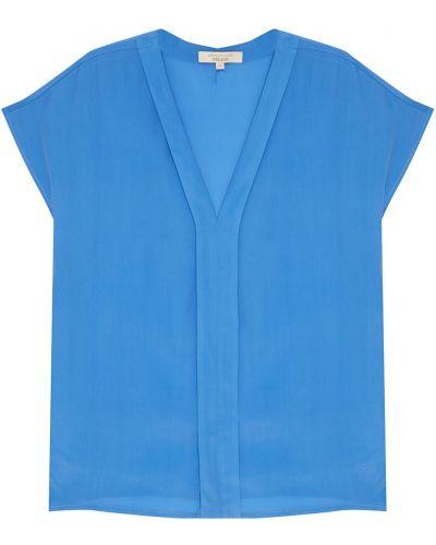 Блузка прямая с V-образным вырезом Akhmadullina Dreams