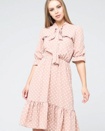 Розовое платье Brunello De Neri