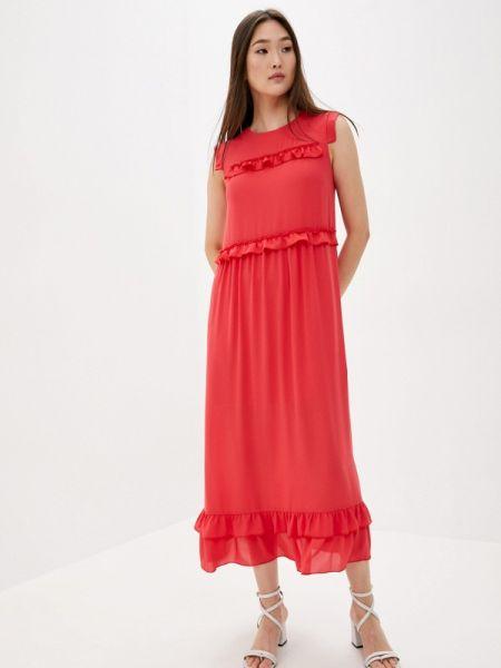 Повседневное платье красный весеннее Blugirl Folies