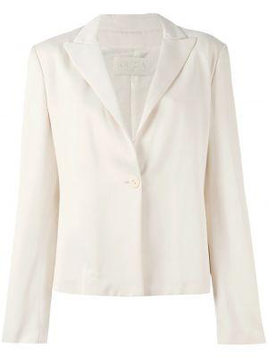 Розовый прямой пиджак винтажный на пуговицах Krizia Pre-owned